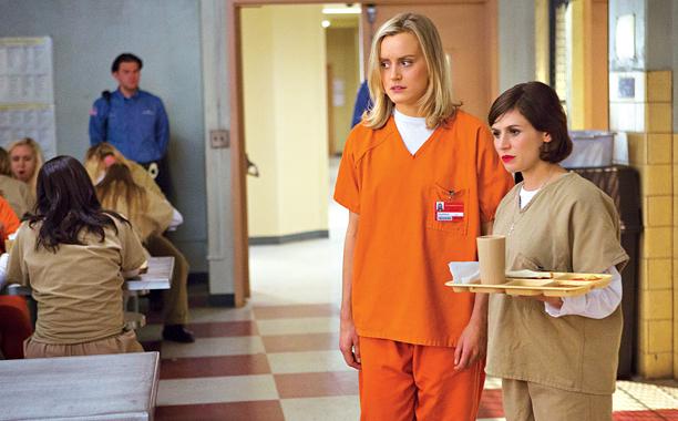 LADIES IN ORANGE Girls just wanna have fun in prison