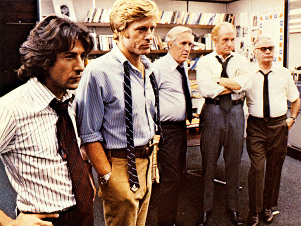 Directed by Alan J. Pakula The ultimate newspaper film, this dramatization of how Washington Post reporters Bob Woodward and Carl Bernstein uncovered the Watergate scandal…