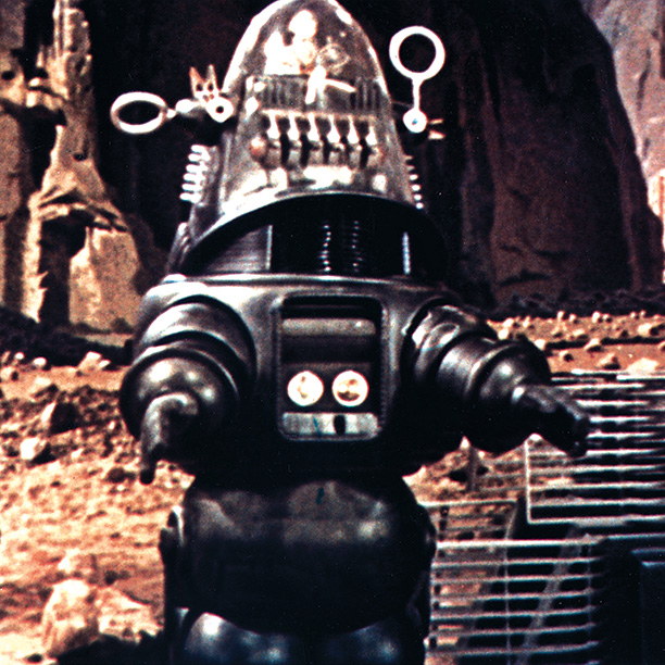 Forbidden Planet | Moviegoers gasped when they saw the towering mechanical man. ''Robby exhibited a distinct personality, thanks to both script writing and the careful execution of design…
