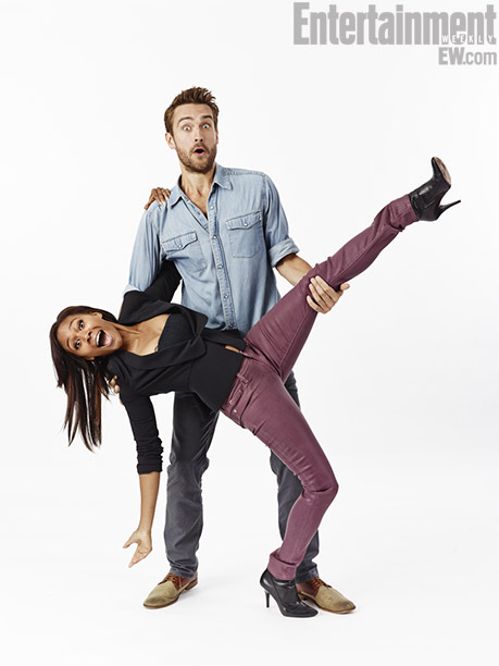 Nicole Beharie and Tom Mison, Sleepy Hollow