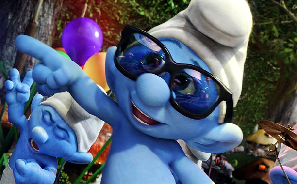 Smurfs franchise (1958-present) In cartoon, films, and TV, these little guys always keep their cool. Wish we could say the same for the beige baddie…