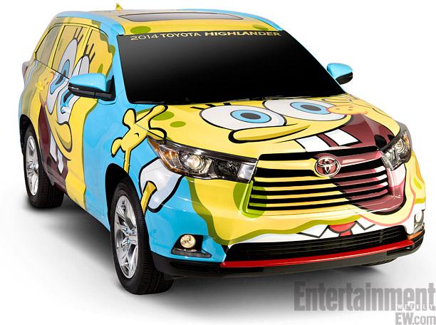 Sponge Bob Car