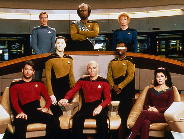Syndicated, 1987-94 Assimilating legions of new fans into the cult of Trek , Captain Picard (Patrick Stewart) and his enterprising crew boldly proved that cerebral…