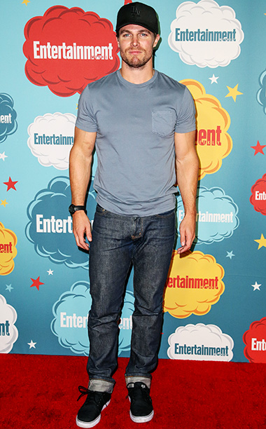 Stephen Amell, San Diego Comic-Con 2013