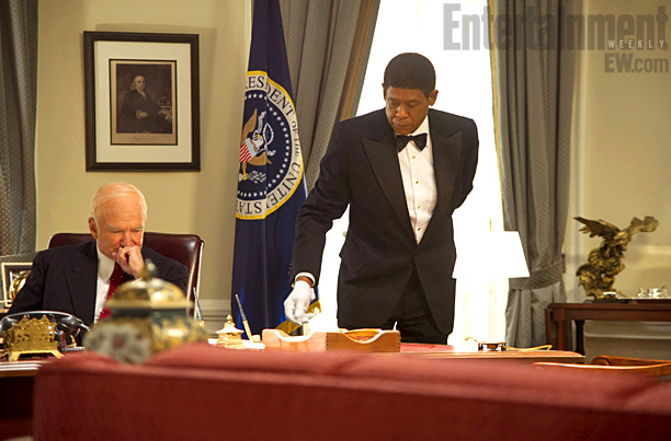 In the film, the first president Cecil serves is Dwight D. Eisenhower (Robin Williams). In reality, Eugene Allen started his White House career with Harry…