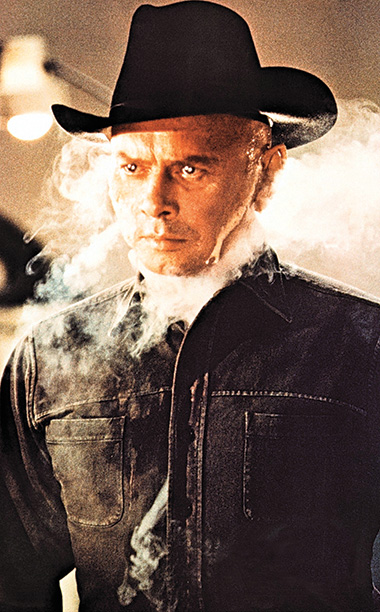 Yul Brynner, Westworld (Movie - 1973) | The sci-fi film itself might seem dated, but not the android (played by Yul Brynner), who was built for recreational gun battles with human tourists.…