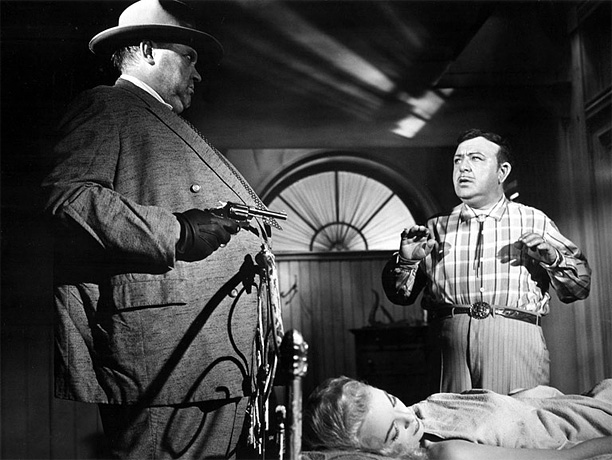 Directed by Orson Welles Set in a squalid Mexican border town, Welles' most fully realized film after Citizen Kane is a yarn of kidnapping and…