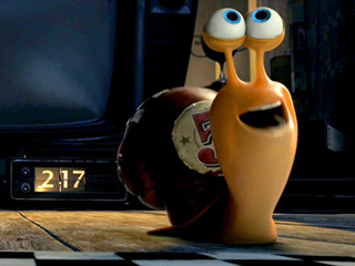 Movie Guide | GETTING YOUR SNAILS DONE A freak accident tranforms our hero into a lightning-fast snail in DreamWorks' Turbo