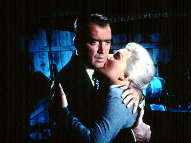 Directed by Alfred Hitchcock In Hitchcock's romantic mystery, James Stewart is a detective whose lover (Kim Novak) dies and then comes back to life. It's…