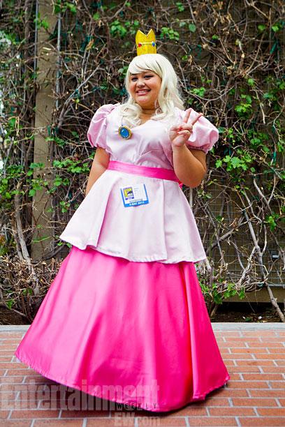 San Diego Comic-Con 2013   Princess Peach from Mario Brothers