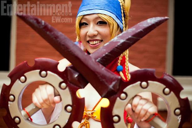 San Diego Comic-Con 2013   Rikku from Final Fantasy X-2