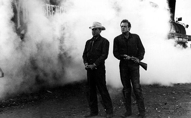 3:10 to Yuma | Added to the National Film Registry in 2012 and nominated for a 1958 BAFTA, Delmer Daves' take on Leonard's 1953 short story emphasized the pop…