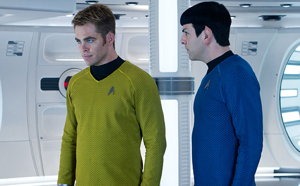 Kirk (Chris Pine) and Spock (Zachary Quinto), Star Trek Into Darkness (52%) James Franco, Seth Rogen, and Jay Baruchel, This Is the End (20%) Mike…