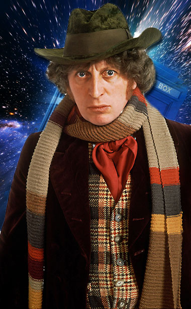 Doctor Who | The most beloved of the ''old'' Doctors, the hobbies of his Time Lord included wearing lengthy scarves, handing out ''Jelly baby'' candy, and generally being…