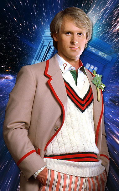 Doctor Who | As if the purportedly alien Time Lord didn't seem enough like a uniquely British character, Peter Davison's Fifth Doctor dressed in the style of an…