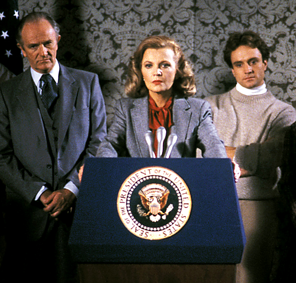 Betty Ford, Gena Rowlands | Gena Rowlands played Gerald Ford's beloved wife who went on to become a beacon of hope for millions of addicts in the 1987 miniseries The…
