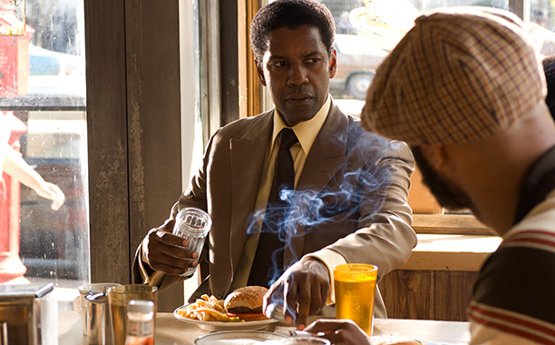 Denzel Washington, American Gangster | Played by: Denzel Washington Portraying the real-life 1970s Harlem drug kingpin, who built an empire by smuggling heroin out of Southeast Asia in the coffins…