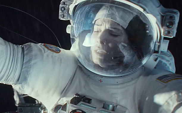 IN A SPACE JAM Sandra Bullock stars as a stranded astronaut in Gravity