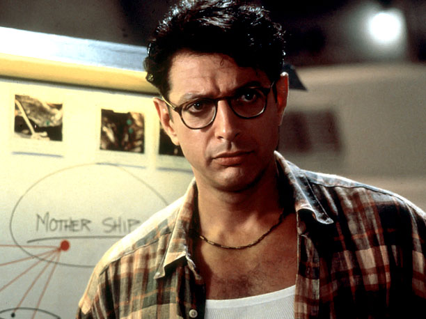Jeff Goldblum, Independence Day | Character: Dr. Ian Malcolm Best Line: ''Yeah, but John, if The Pirates of the Caribbean breaks down the pirates don?t eat the tourists.'' Scene-Stealing Style:…