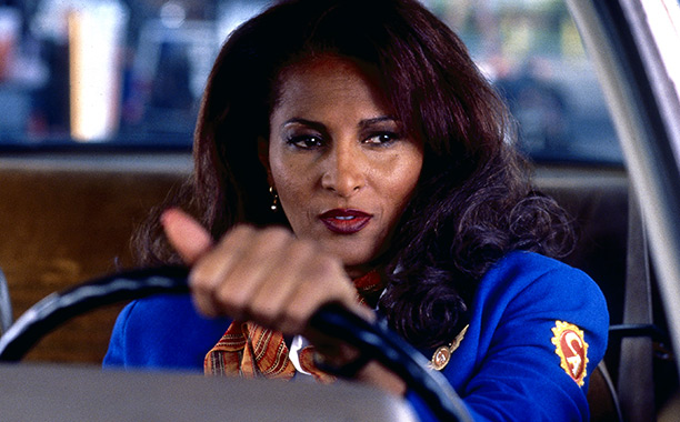 Jackie Brown (Movie - 1997) | Quentin Tarantino was a very vocal Leonard obsessive — so much so that, after Pulp Fiction , he got the film rights to three of…