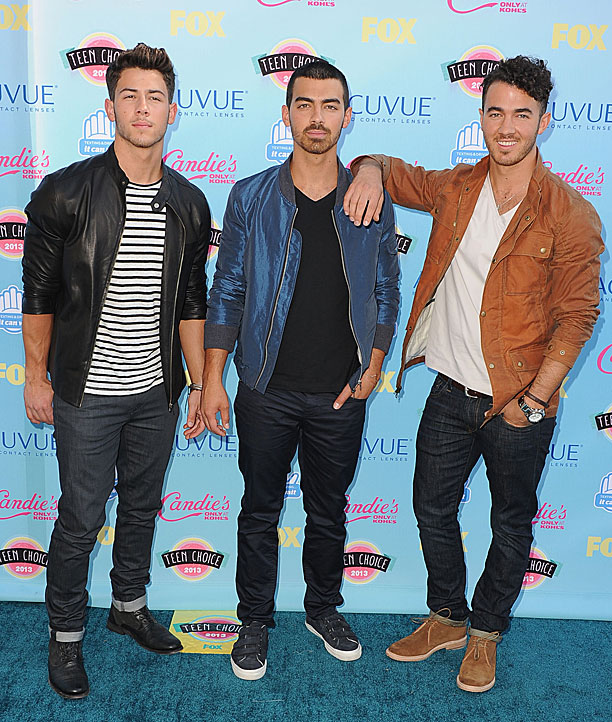 Nick Jonas, Joe Jonas, and Kevin Jonas of the Jonas Brothers