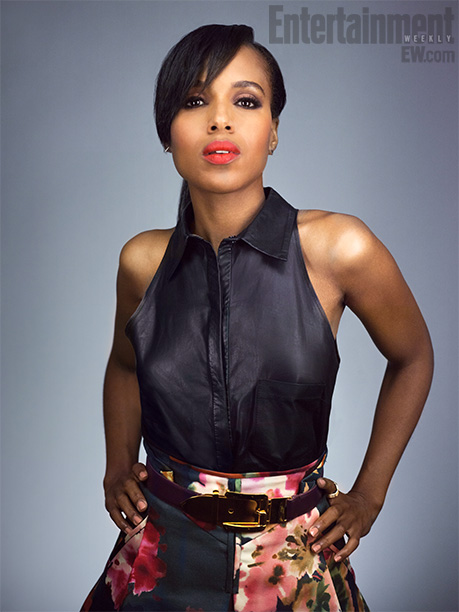 Kerry Washington | Whether she's in and out of love with the President of the United States on Scandal or co-starring in the Oscar-nominated Django Unchained , Washington…