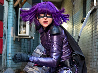 Movie Guide | KID SASS Chloë Grace Moretz returns as the lovable profanity-spewing, wig-wearing, crime-fighting superhero Hit-Girl
