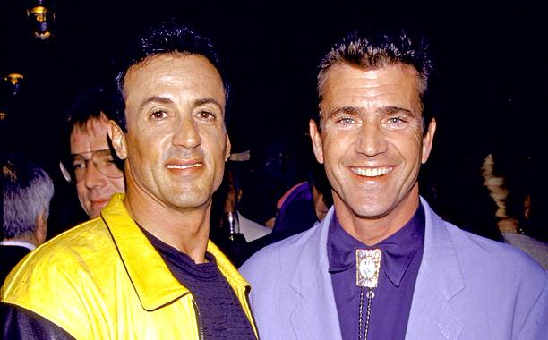 Mel Gibson Sylvester Stallone