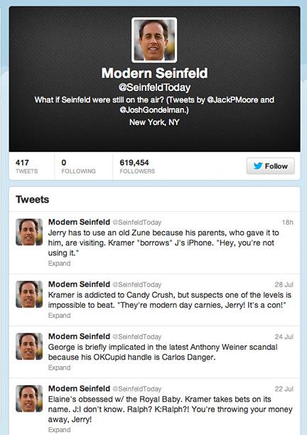 Modern Seinfeld
