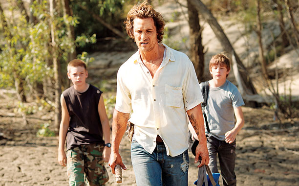 METHOD MAN Matthew McConaughey embraces his serious side with his role as a runaway fugitive in Mud .
