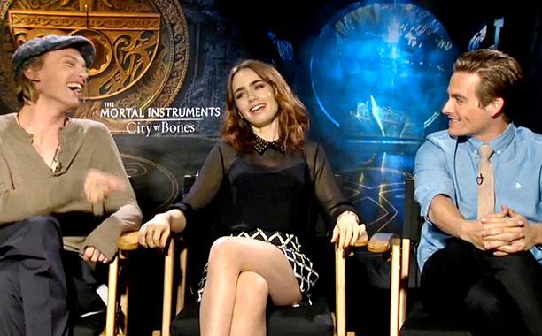 PCPT Mortal Instruments Cast