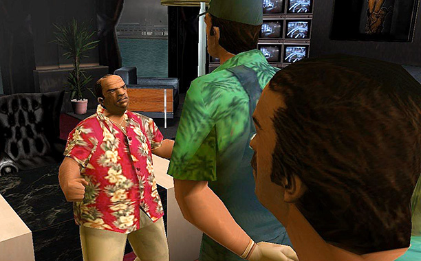 Grand Theft Auto: Vice City | Voiced by: Luis Guzmán A flop-sweating Tony Montana-meets-Napoleon Bonaparte, Diaz is the kind of guy who touts himself as a philanthrophist but is actually just…