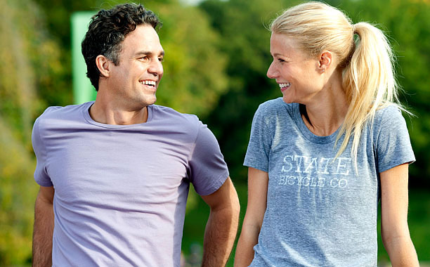 OVERSHARING Mark Ruffalo and Gwyneth Paltrow star in Thanks for Sharing , which is struggles to make a serious impression