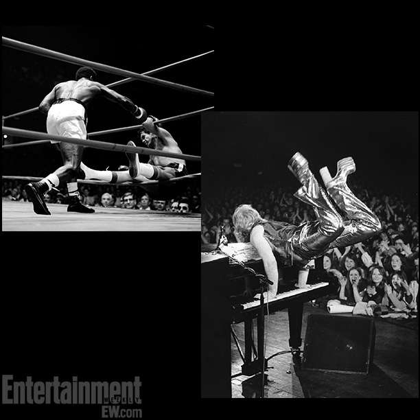 Through The Ropes , Hedgemon Lewis and Armando Muniz at The Forum, 1975; Elton John, shot by Barrie Wentzell in 1973 ''There are so many…