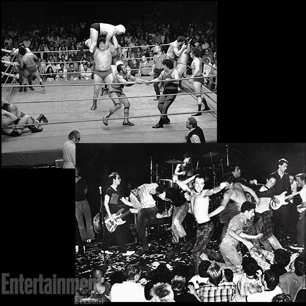 Battle Royale , André The Giant at Olympic Auditorium, 1976; the Dead Kennedys, shot by Edward Colver in 1982 ''As soon as I saw that…