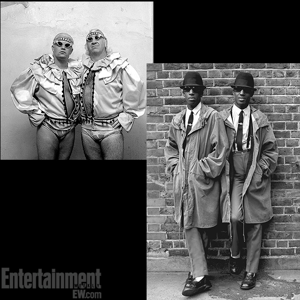 Hollywood Blonds ; Janette Beckman's Mod Twins, London, 1978 ''Each one of these images has the obvious visual or photographic reference — the gestures, the…