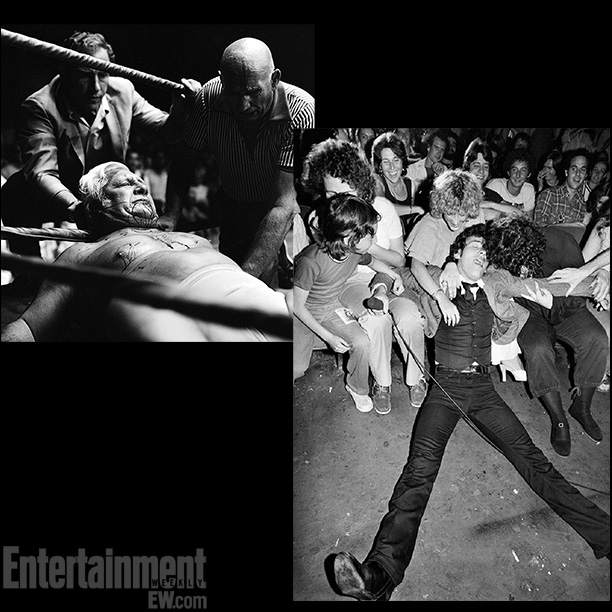 Freddie Blassie, 1969; Lynn Goldsmith's shot of Bruce Springsteen performing, 1978 ''In essence, these photographers were war photographers. They were all in the midst of…