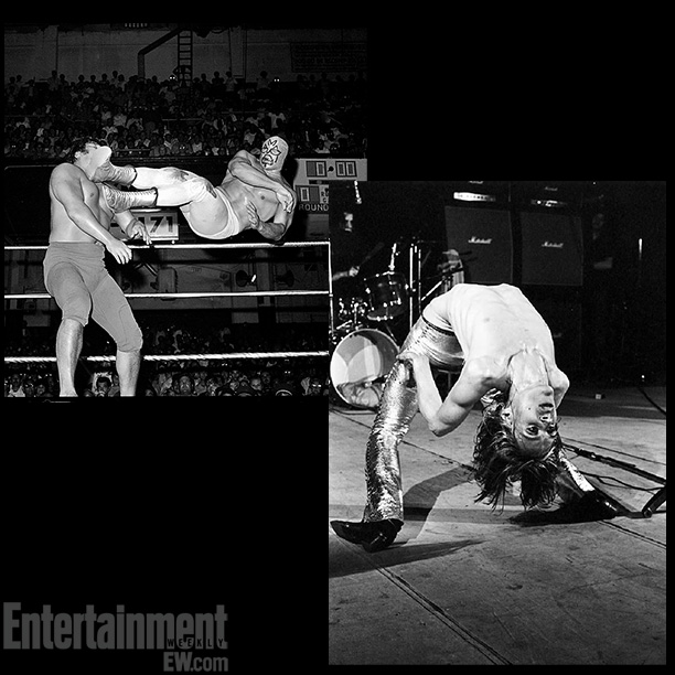 Flying Kick , Mil Máscaras at Olympic Auditorium, c. 1971; Iggy Pop, shot by Mick Rock c. 1970s ''One thing that really stands out is…