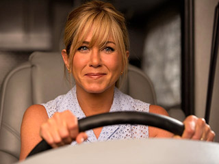 Movie Guide | DRIVING MS. CRAZY Jennifer Aniston plays a stripper playing a mom alongside Jason Sudekis in We're the Millers