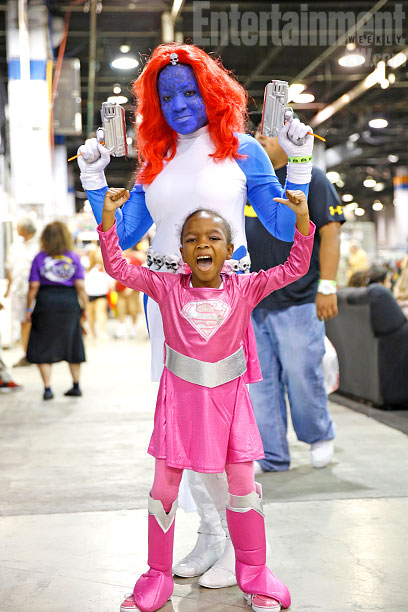 Mystique and Super Girl