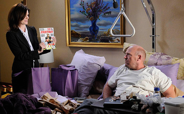 Breaking Bad   Season 4, episode 3 Marie is rarely more than Hank's pretty-in-purple accessory or a shoulder for Skyler to complain on. But her own twisted psychosis…