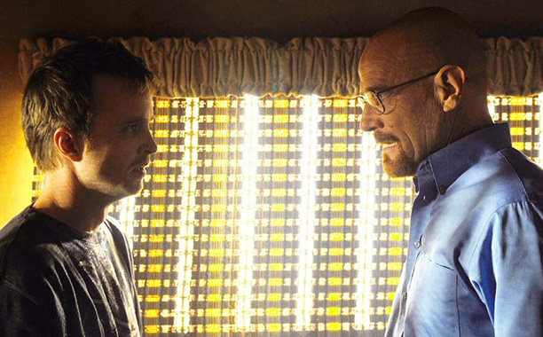 Breaking Bad | Season 3, episode 6 Hank corners Walt and Jesse in the RV, prompting Aaron Paul to utter the classic Jesse-ism, ''This is my own private…