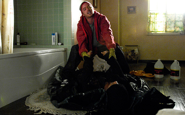 Breaking Bad | Season 1, episode 2 Walt and Jesse slowly, clumsily, and painfully attempt to tie up their first cook's two loose ends: the dead Emilio and…