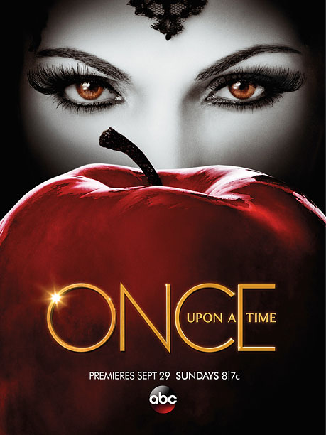 Desperate Evil Queens ? What is it with ABC Sunday dramas and apples in their key art? Seriously, there needs to be a ''no fruit''…