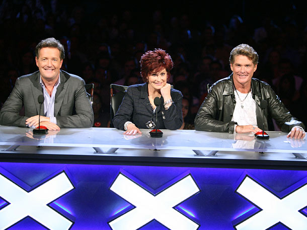 Sharon Osbourne, David Hasselhoff, ... | Not to take anything away from Howie Mandel, but there was a special brand of wacky (intentional and not) with this trio.