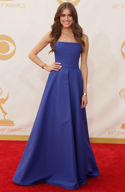 Allison Williams in Ralph Lauren Collection