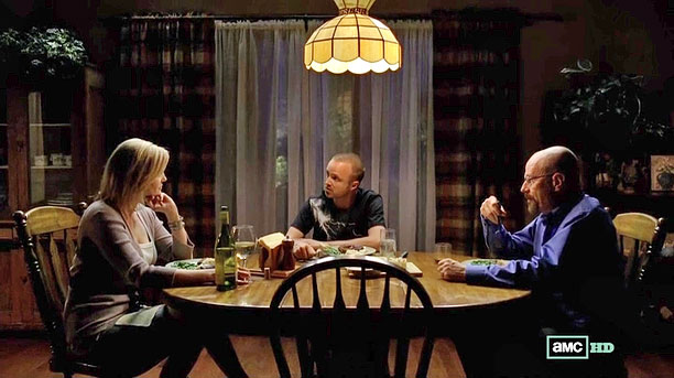 "Jesse has an awkward dinner at the White house (season 5) ""That was so fun, just how uncomfortable it was sitting in between Mr. and…"