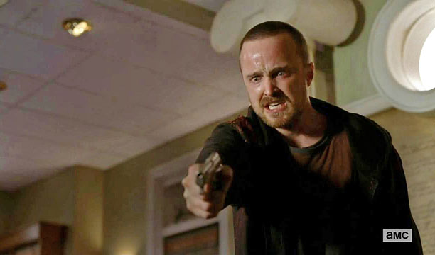 "After his ricin revelation, Jesse brutally confronts Saul in his office (season 5) ""Aaron Paul is so good in that scene. Standing three feet away…"