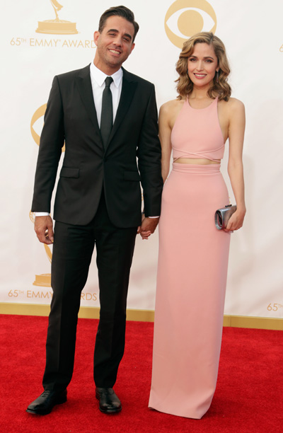 Bobby Cannavale in Calvin Klein Collection and Rose Byrne