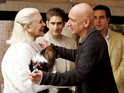 Ben Kingsley, Lauren Bacall, ... | The Sopranos (2006) Sir Ben provided a hilariously blasé foil for Christopher (Michael Imperioli) when the mob underling headed down to Miami in hopes of…